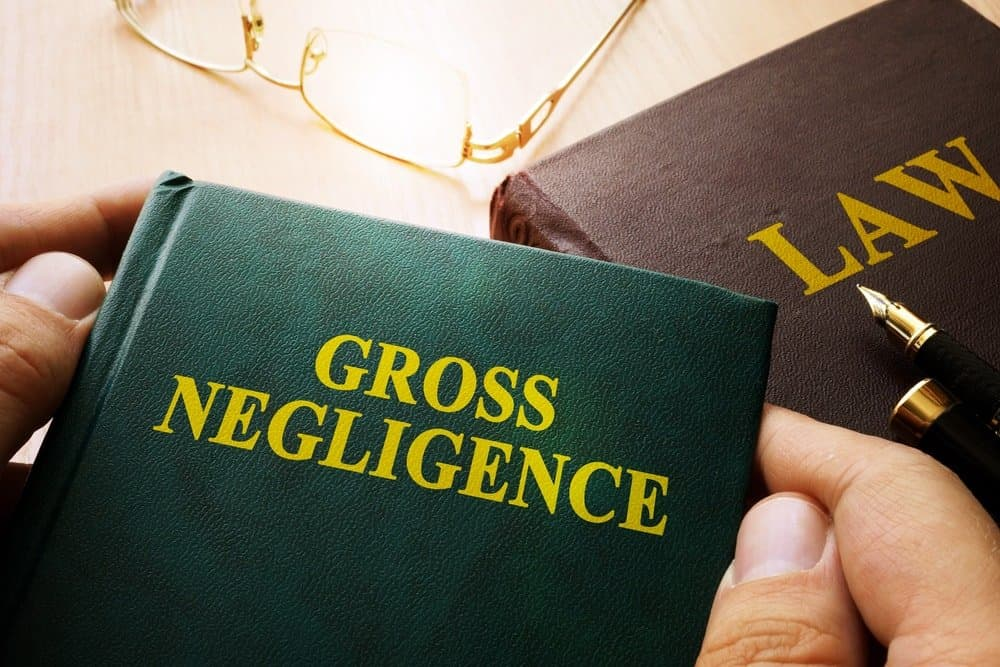 The Difference Between Ordinary Negligence vs. Gross